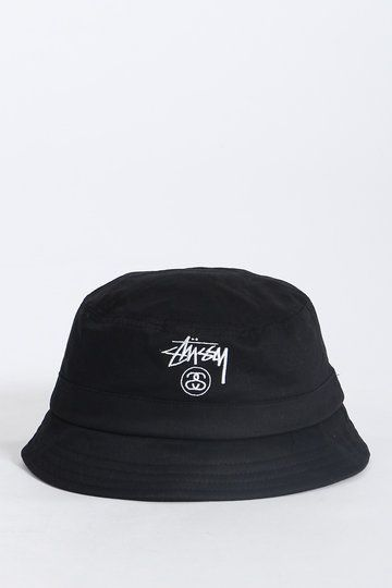 Stussy; The ever classic Basic Bucket Hat - North Beach