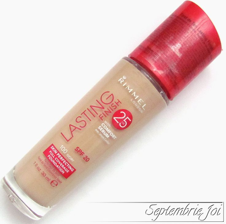 Rimmel Lasting Finish Foundation 25H review & swatch