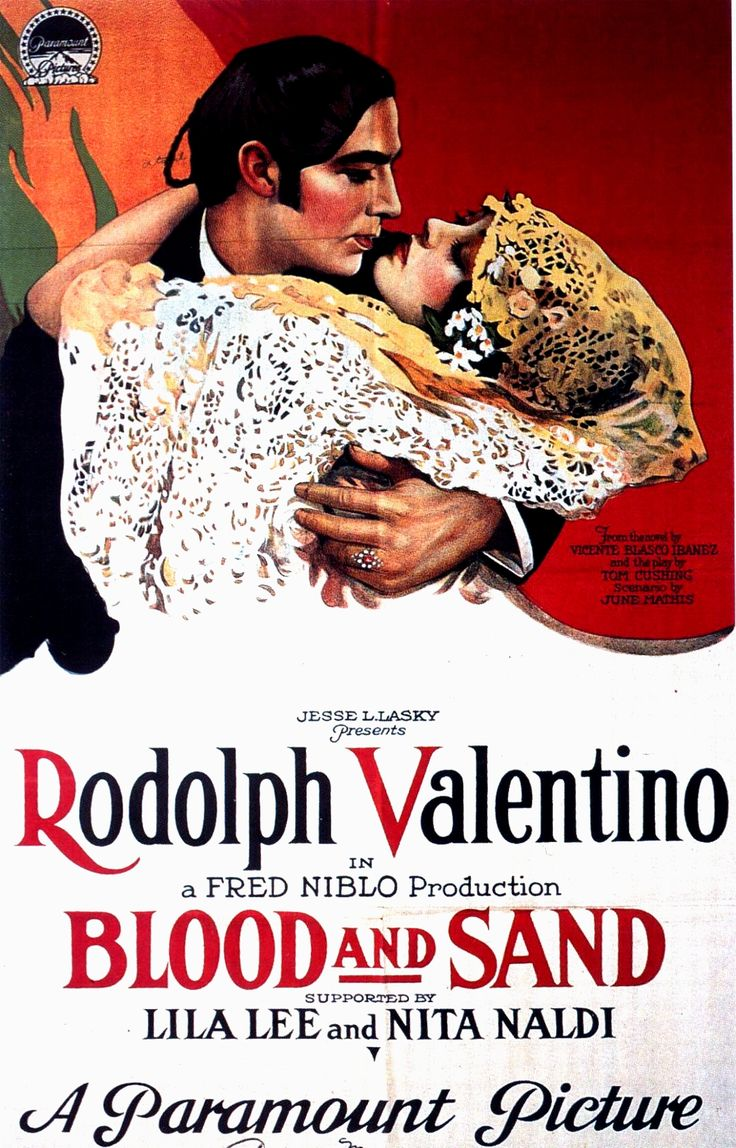 Blood and Sand - Rudolph Valentino, 1920
