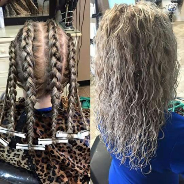 14+ Loose french braid perm trends