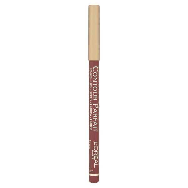 Το Contour Parfait Lip Liner Pencil από τη L'Oreal Paris είναι ένα απαλό μολύβι χειλιών, με μεγάλη διάρκεια. Η κρεμώδης και απαλή σύστασή του είναι ιδανική για καθημερινή χρήση.