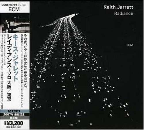 Keith Jarrett Radiance-Solo:Osaka-Tokyo Album Cover