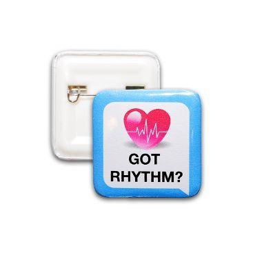 Got Rhythm?, sygeplejebadge
