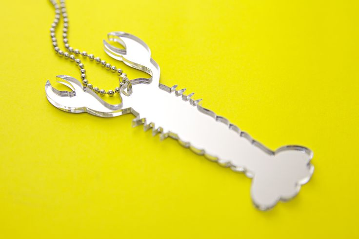 Rapu-kaulukoru yksityisasiakkaalle //  Crab-necklace for private client