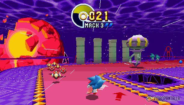 Sonic Mania  Ya queda menos para que llegue el 15 de agosto y Sonic Mania se estrene en Nintendo Switch Xbox One PlayStation 4 y Steam. El título tendrá un precio de 20 y será una oda a la época de la MegaDrive la carismática consola de SEGA. Hoy la compañía ha anunciado los niveles especiales y un modo de juego que tendrá el título.  En Blue Spheres Sonic Tails o Knuckles deberán cruzar por una serie de esferas azules para despejar el nivel similar al tercer título de la franquicia. Pero…