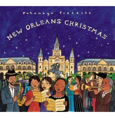 Putumayo New Orleans Christmas CD με Χριστουγεννιάτικα Τραγούδια