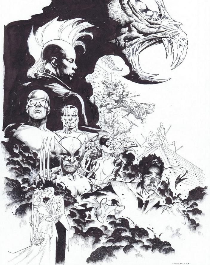 The X-Men by Jerome Opena