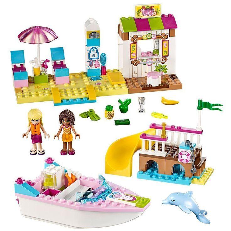 LEGO Juniors Andrea And Stephanie's Beach Holiday 90 Pieces Kids Girls Boys Toy  #Lego
