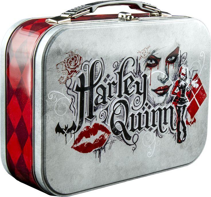 Batman - Arkham Knight - Harley Quinn Lunchbox by Ikon Collectables | Popcultcha
