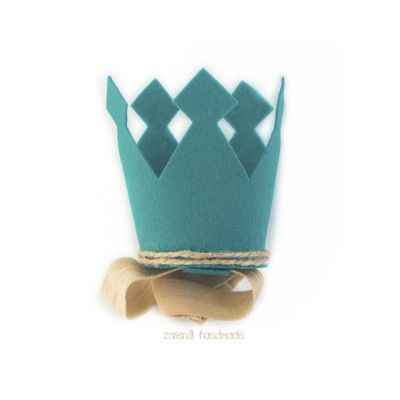 Корона принца из фетра