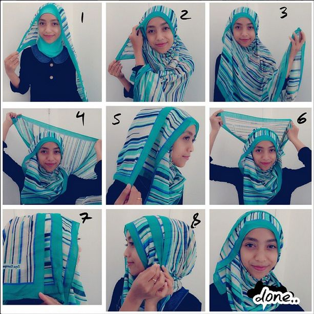 Back to School Simple Hijab Tutorial