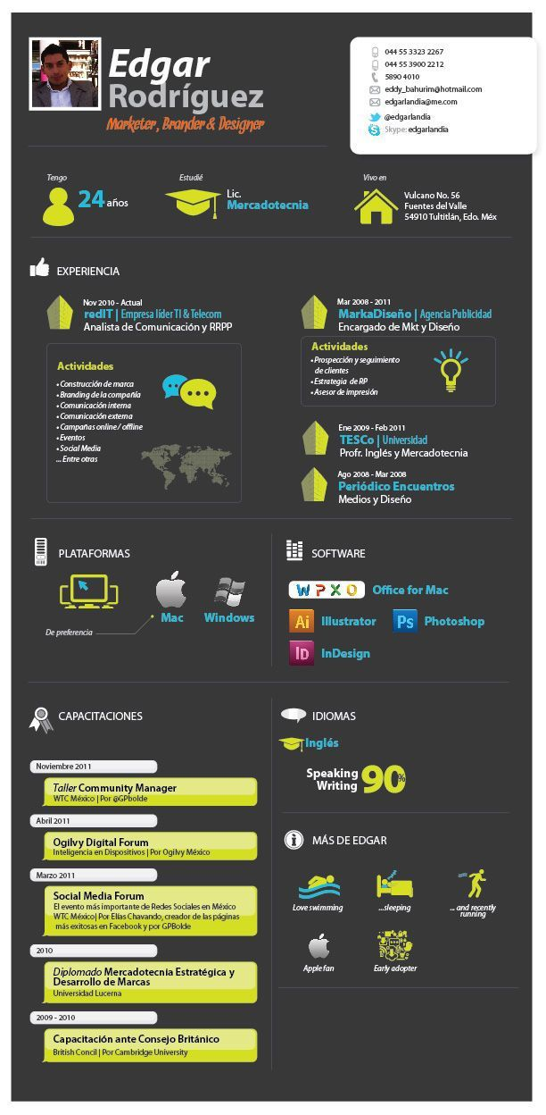 16 best infographic resume images on Pinterest Ash, Brochures - dwight schrute resume