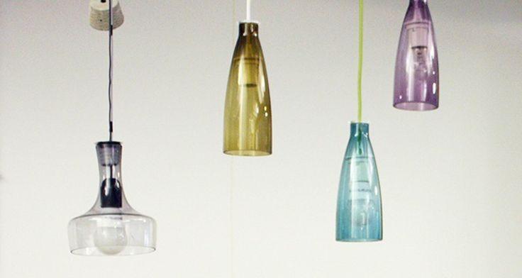 Bottlamps - create da Ilaria Gatto Lampade a sospensione ...