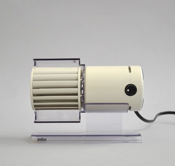 Braun HL 70 desk fan by Reinhold Weiss 1971