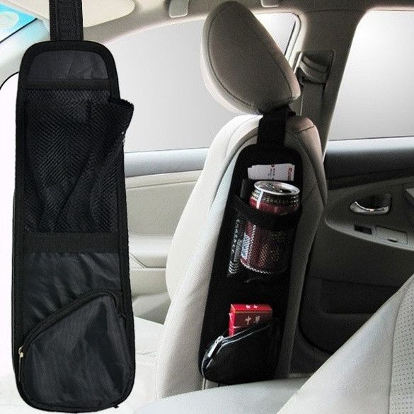 Auto Car Seat Side Back Storage Pocket Backseat Organizer Waterproof Fabric D_L = 1712397252