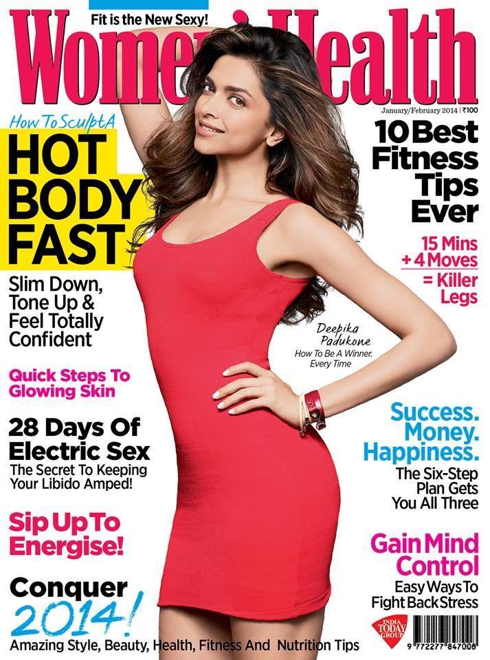 Deepika Padukone, Women's Health Magazine [India] (February 2014)