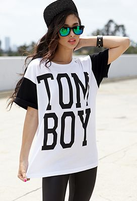 Tom Boy Boyfriend Tee | FOREVER 21 - 2040496507