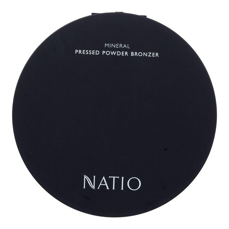 Natio Mineral Pressed Powder Bronzer in Sun Swept 18.1 g