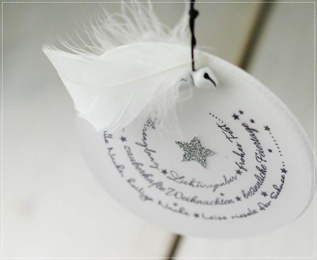 Heute habe ich mal keine Karte für euch sondern süße Geschenkanhängerchen, die auch wieder mit Materialien aus dem creative-depot  ang...