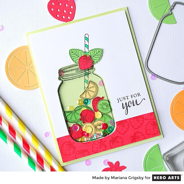 Fruit+Shaker+Card+by+Mariana+Grigsby+for+Hero+Arts - Scrapbook.com