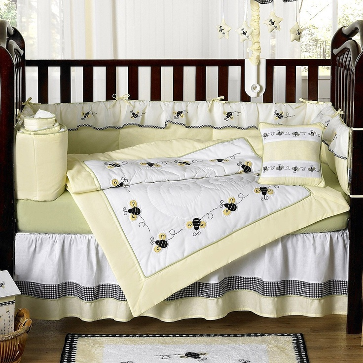 Designer Unique Bumble Bee Baby Bedding