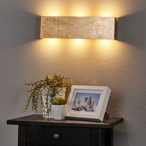 Afbeeldingsresultaat voor wandlamp goud