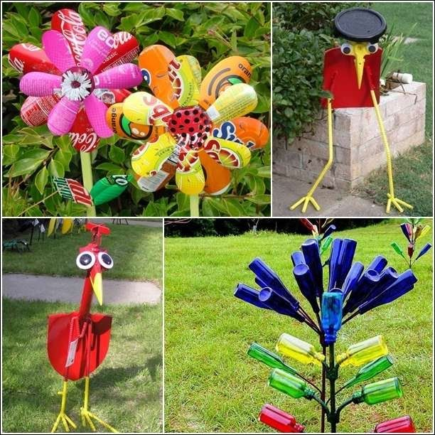 Image Result For Recycled Garden Art Ideas Recycled Garden Ideas