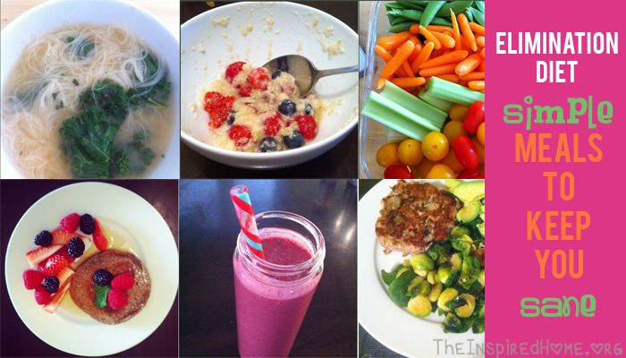 how to keep weight on during elimination diet