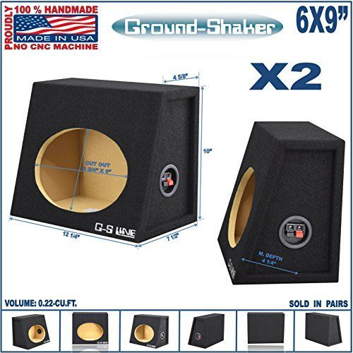 6x9 Speaker Box Enclosure 6x9 Car Speaker Box (1 Pair)