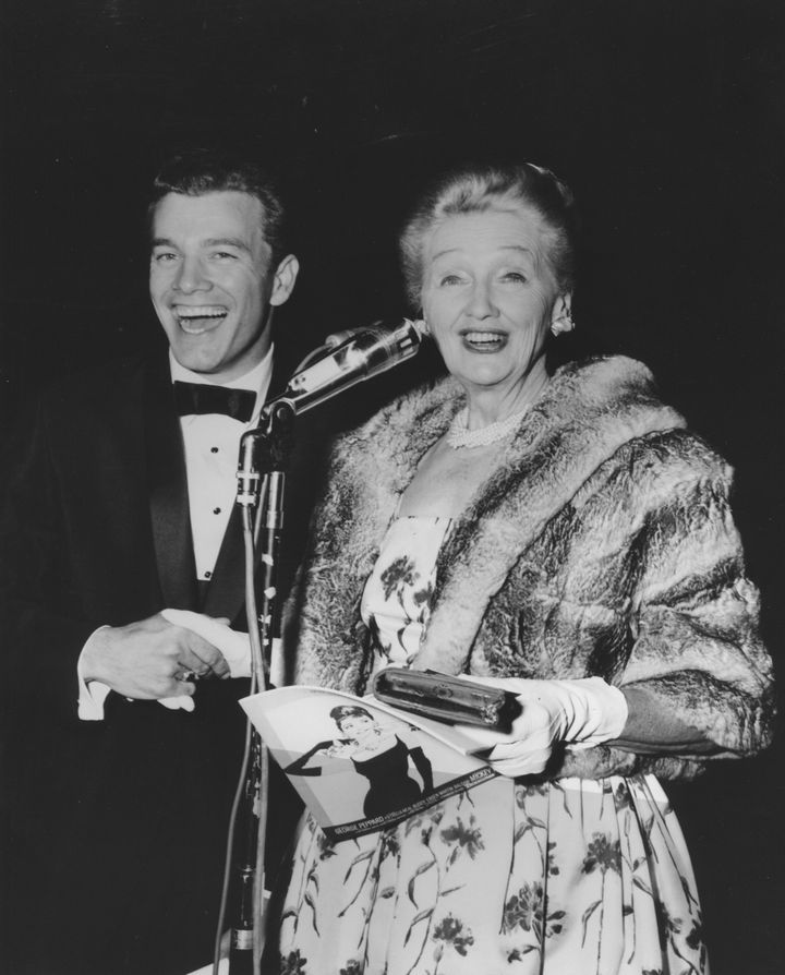 Movie Premiere  Wink Martindale & Hedda Hopper At Grauman's Chinese Theater