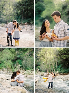 [ Pebbles and Roses ]: Pre-Wedding / Engagement Photo Theme