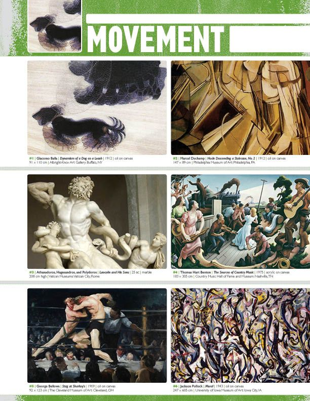 Movement Element Of Art : Best images about elements and principles of design on