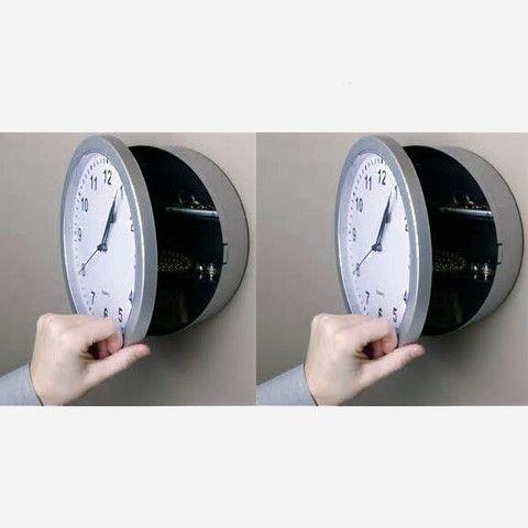 Security Box - Wall Clock