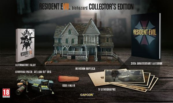 Resident Evil 7 biohazard European Collector's Edition revealed! Sit down and prepare your wallet to be opened as Capcom have revealed the Resident Evil 7 biohazard European Collector's Edition. Oh, it's bloody lovely too! http://www.thexboxhub.com/resident-evil-7-biohazard-european-collectors-edition-revealed/