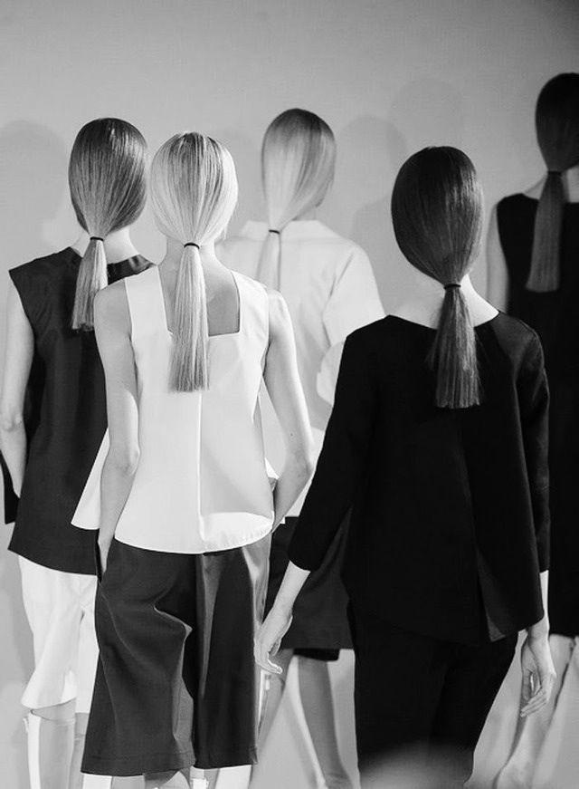 PENTEADO Chic Minimalist Tailoring - minimal fashion // Jil Sander Spring 2013