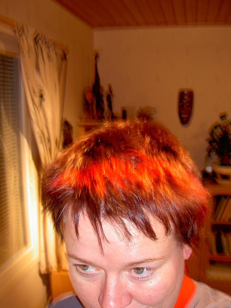 Tämä on muinoin ollut yksi kivoimmista jollei paras tukkani :)