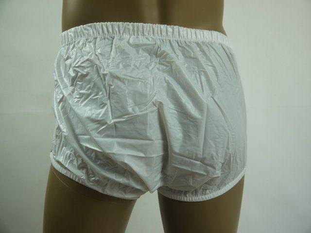 ADULT BABY incontinence PLASTIC PANTS P004-1,Size:0 / L / XL / XXL