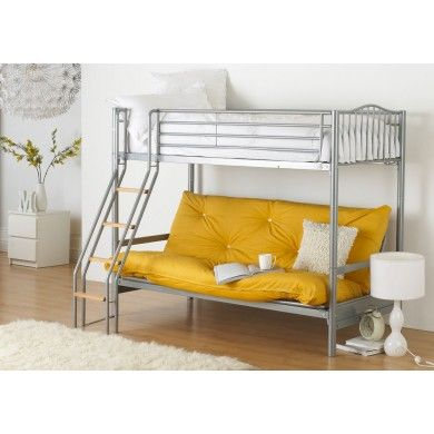 the alaska bunk from hyder has a single bed on top and a pull out futon 10 best kids bunk beds images on pinterest   3 4 beds childrens      rh   pinterest