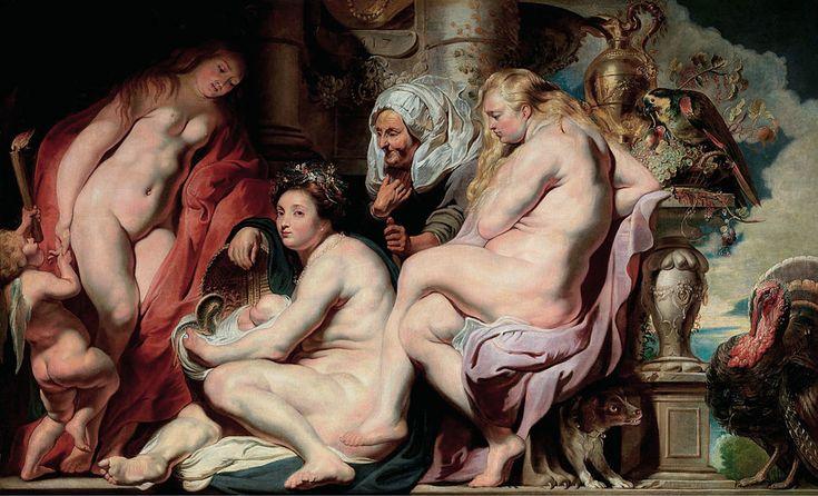 Οι κόρες του Κέκροπα ανακαλύπτουν τον Ερεχθύονα μωρό (1617) Βασιλικό Μουσείο Καλών Τεχνών Βελγίου στην Αμβέρσα