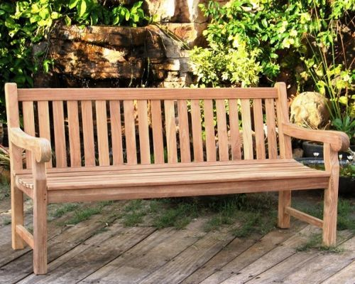 Sustainable School Garden Outdoor Furniture   Teak Garden Bench   Big  Classic Style. Grade A Teak. Http://www.sustainable Furniture .co.uk/garden Fuu2026