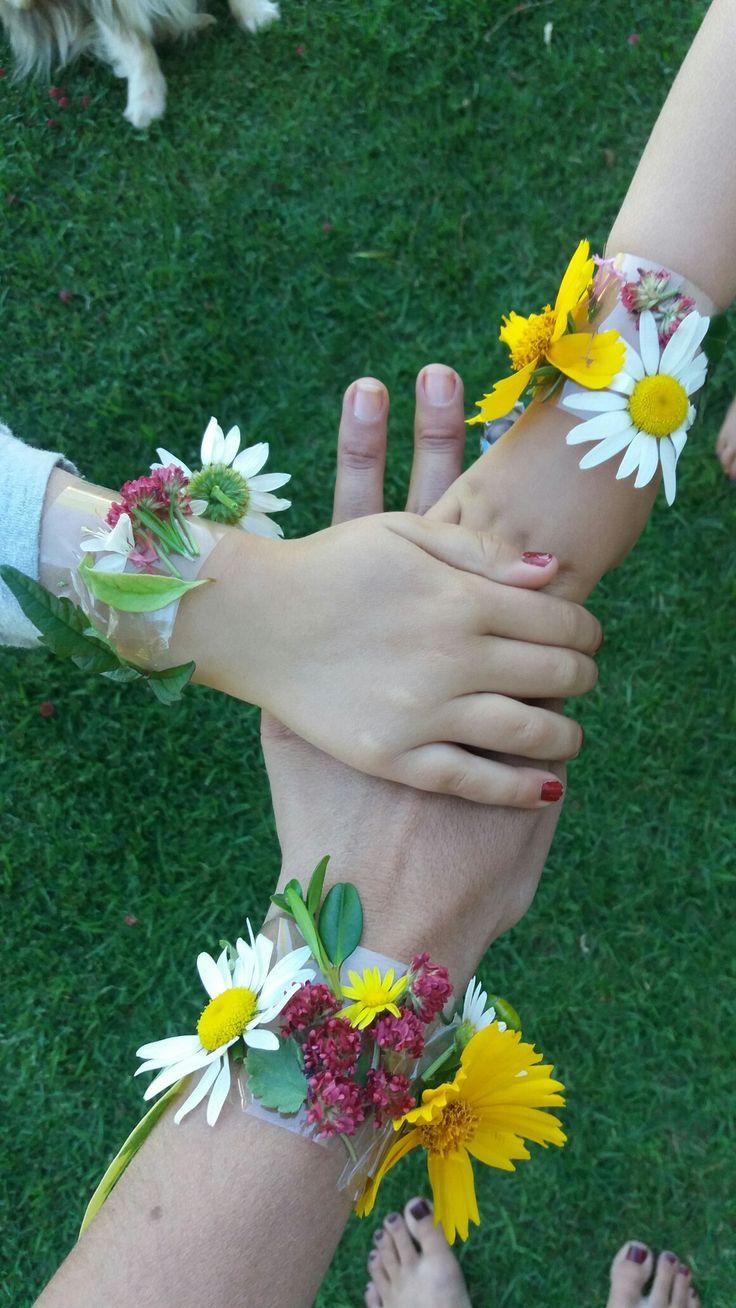 #blomme armbande