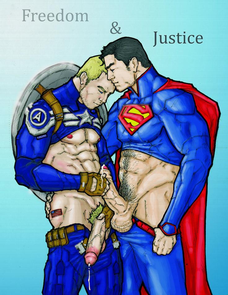 naked superman having sex
