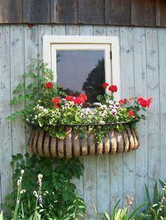 Tyrolean style wrought iron window box - Google Search