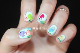 Spring/Easter Nail Art!