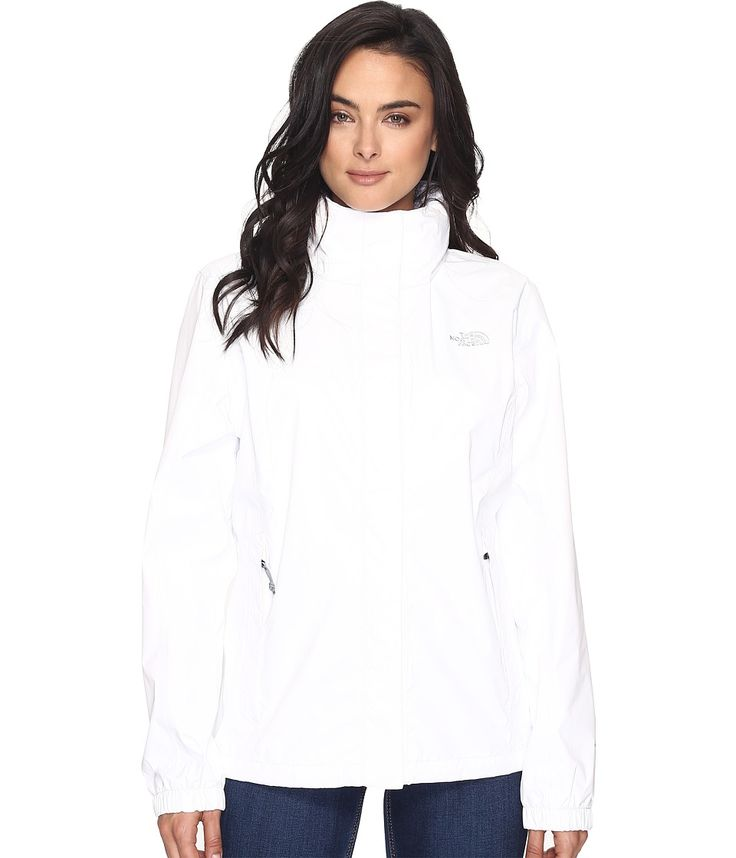 THE NORTH FACE THE NORTH FACE - RESOLVE JACKET (TNF WHITE) WOMEN'S COAT. #thenorthface #cloth #