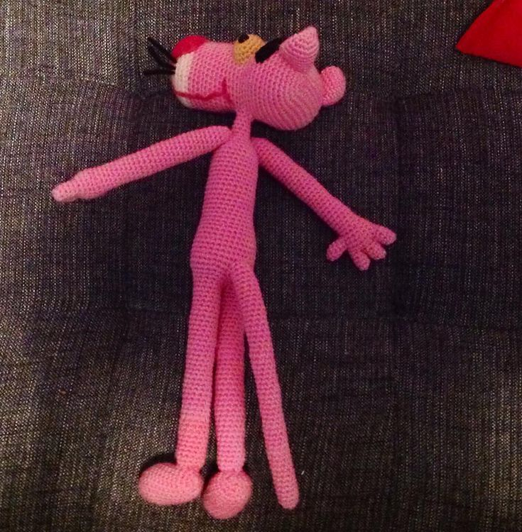 Colorful Pink Panther Häkelmuster Gift - Decke Stricken Muster ...