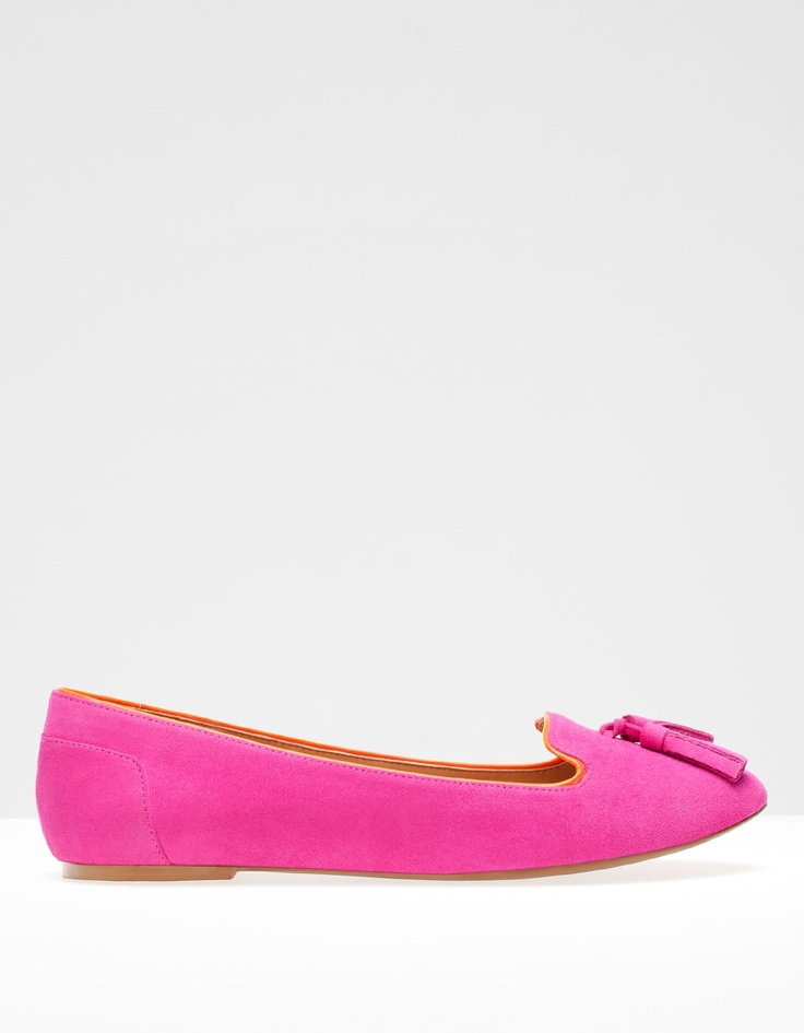 459k Flat shoes with tassel detail - FLAT SHOES - SHOES -Stradivarius Indonesia