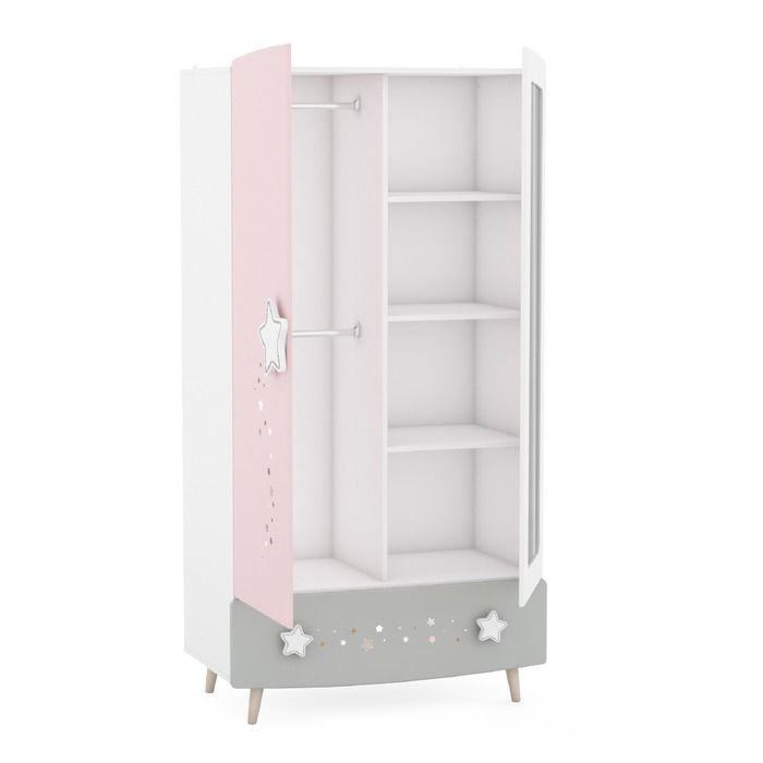Kleiderschrank Stella 95 X 186 8 Cm Online Kaufen Bei Segmuller Kids Bedroom Furniture Sets Baby Room Furniture Modern Kids Bedroom