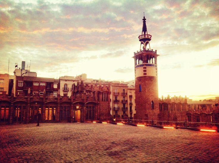 Barcelona - Caixa Forum - Roof