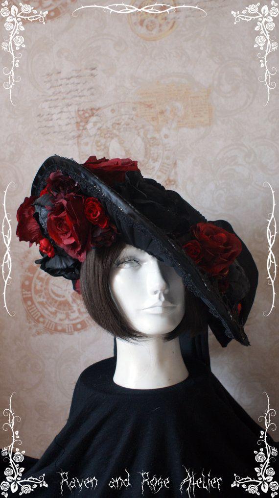 Viktorianische Hüte / Mützen Kentucky Derby / Edwardian Hüte / Steampunk Hüte, Gothic Hüte. historische Hüte Verkauf